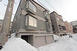 北海道札幌市西区発寒六条9丁目の賃貸アパートの外観