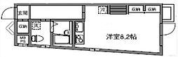 カリーノ代沢[1階]の間取り