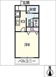 サン・friends藤島[1階]の間取り