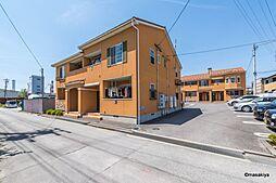 長野県長野市大字大豆島の賃貸アパートの外観