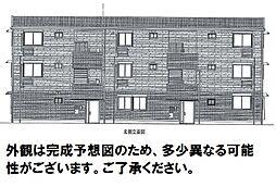 D-room可部3丁目A棟[203号室]の外観