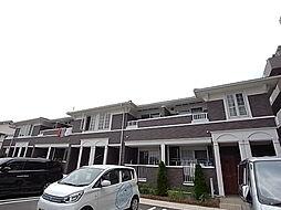 兵庫県明石市魚住町住吉3丁目の賃貸アパートの外観