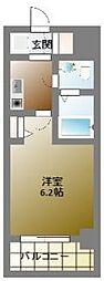 ラシーヌ日本橋[6階]の間取り