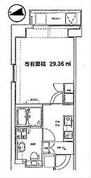 カンパニーレ横浜[701号室]の間取り