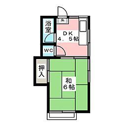 多賀荘[1階]の間取り