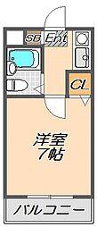 兵庫県神戸市須磨区道正台1丁目の賃貸マンションの間取り
