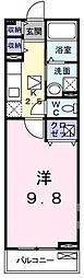 メイプル三鷹[1階]の間取り
