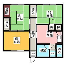 バンノハウス2F[2階]の間取り