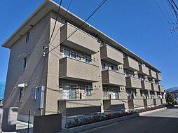 山梨県甲府市上町の賃貸アパートの外観