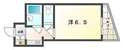 ロータリーマンション大門町[5階]の間取り