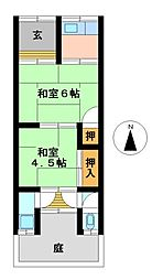 [一戸建] 愛知県北名古屋市九之坪竹田 の賃貸【/】の間取り