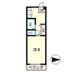 sundance[1階]の間取り