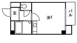 六甲参番館[2階]の間取り