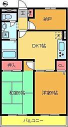 ル・コンホル[3階]の間取り