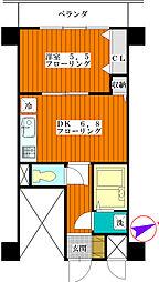 朝日板橋駅前マンション[1003号室]の間取り