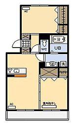 セジュールHIYORI2[3階]の間取り
