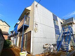 千葉県松戸市六高台1丁目の賃貸アパートの外観