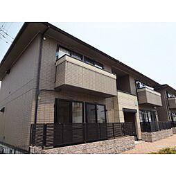 静岡県浜松市東区長鶴町の賃貸アパートの外観