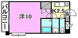 サンハイツ11[301 号室号室]の間取り