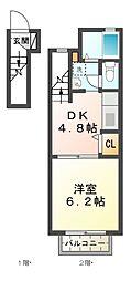 パル151[2階]の間取り