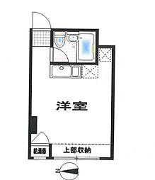 パールハイツ笹塚[3階]の間取り