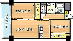 童子丸第10晴和ビル[3階]の間取り