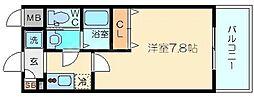 エスリード新大阪CONFORTI番館[2階]の間取り