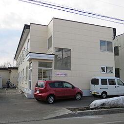 北海道江別市文京台南町の賃貸アパートの外観