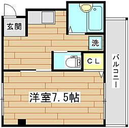 北園ハイツ[3階]の間取り