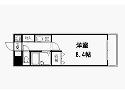 元土御門[4階]の間取り