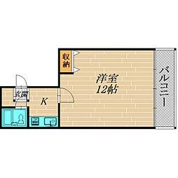 大宮4丁目マンション[201号室]の間取り