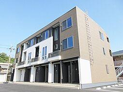 滋賀県甲賀市水口町名坂の賃貸アパートの外観