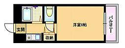 Osaka Metro谷町線 都島駅 徒歩5分の賃貸マンション 5階1Kの間取り