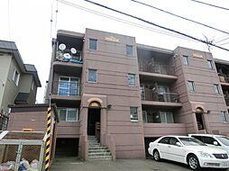 北海道札幌市白石区本郷通2丁目北の賃貸マンションの外観