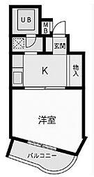 ノアハヤシII[3階]の間取り
