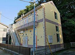 神奈川県横浜市緑区東本郷4の賃貸アパートの外観