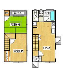 [タウンハウス] 兵庫県神戸市西区南別府1丁目 の賃貸【/】の間取り