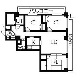 チェレスタT小金井[7階]の間取り