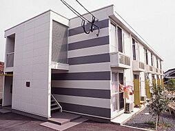 レオパレスGARNET[1階]の外観