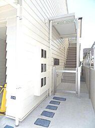 ウッドハウス[2階]の外観
