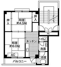 【敷金礼金0円!】ビレッジハウス白岩1号棟