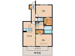 D−roomなごみ[1階]の間取り