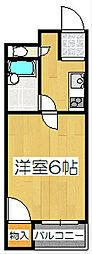 レジデンスプラザ[2階]の間取り