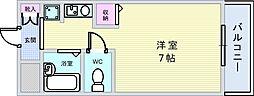 南桜塚ミオ[305号室]の間取り