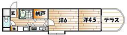 ARK-M(アークエム)[6階]の間取り