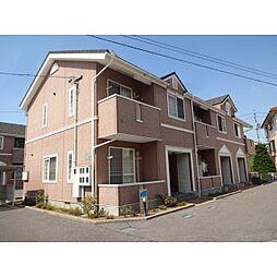 長野県佐久市協和の賃貸アパートの外観