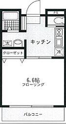 桃山ビル[1階]の間取り