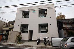 愛知県名古屋市港区辰巳町の賃貸アパートの外観