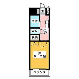 Raiz西高蔵[5階]の間取り