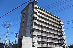 愛知県稲沢市西町3丁目の賃貸マンションの外観
